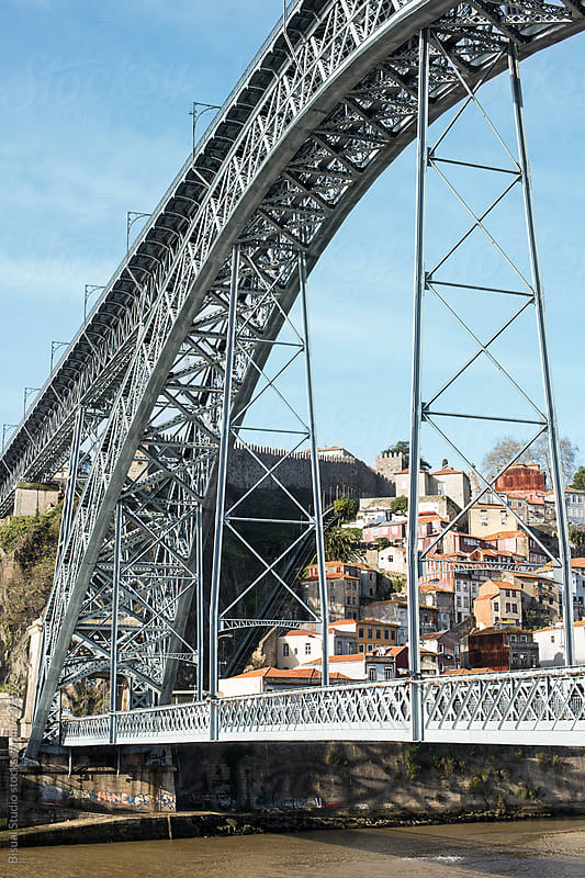 Dom Luis I Bridge, Oporto by Bisual Studio for Stocksy United