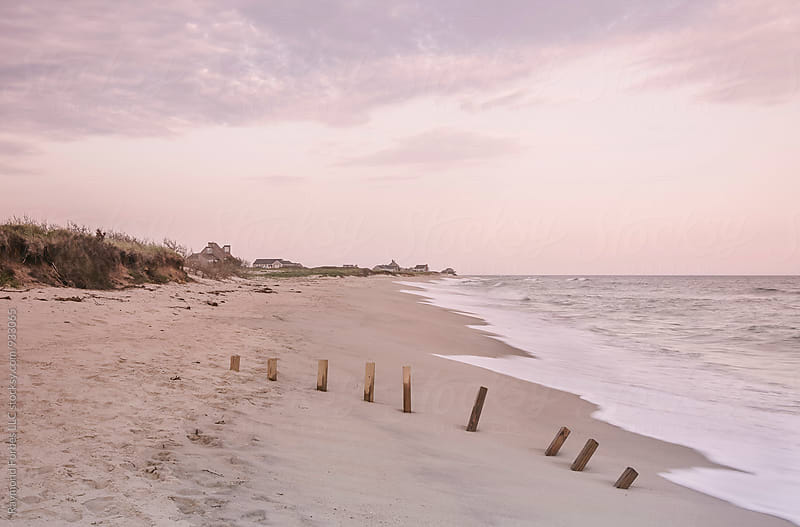 Nantucket Beach Sunset by Raymond Forbes LLC for Stocksy United