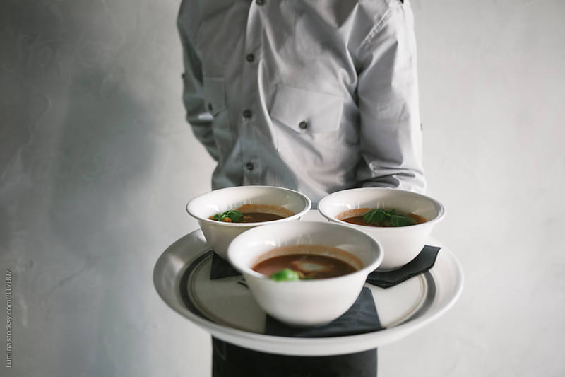 Soup in a Bowl by Lumina for Stocksy United
