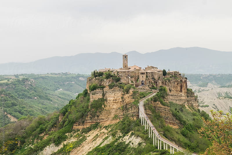 Civita di Bagnoregio by Marilar Irastorza for Stocksy United