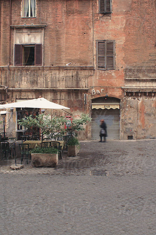 Beautiful old neighborhood of central Rome by Per Swantesson for Stocksy United