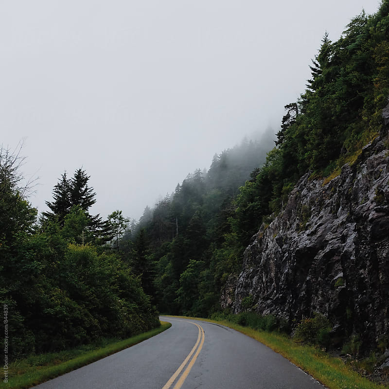 Blue Ridge Parkway by Brett Donar for Stocksy United
