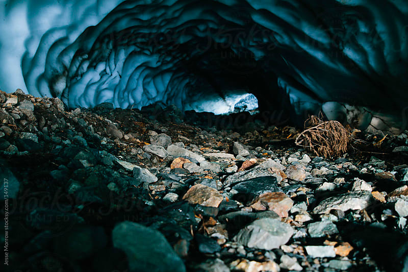 Ice Cave by Jesse Morrow for Stocksy United