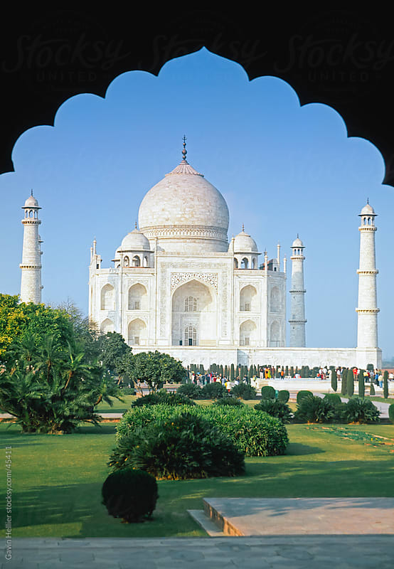 India, Uttar Pradesh, Agra, the Taj Mahal by Gavin Hellier for Stocksy United