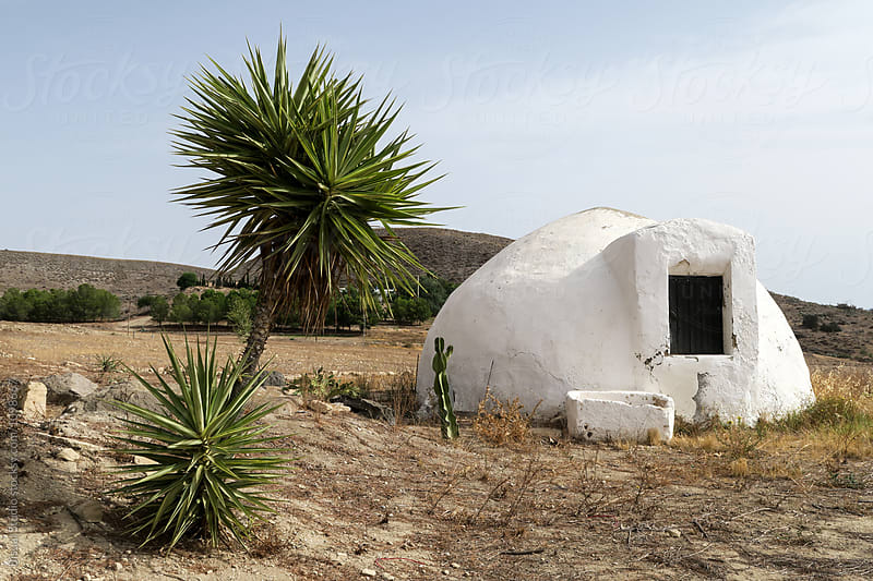 An old cistern in Cabo de Gata Natural Park, Almeria (Spain) by Bisual Studio for Stocksy United