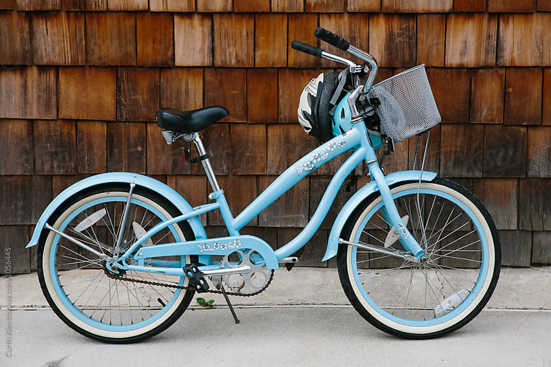 Blue beach cruiser by Curtis Kim for Stocksy United