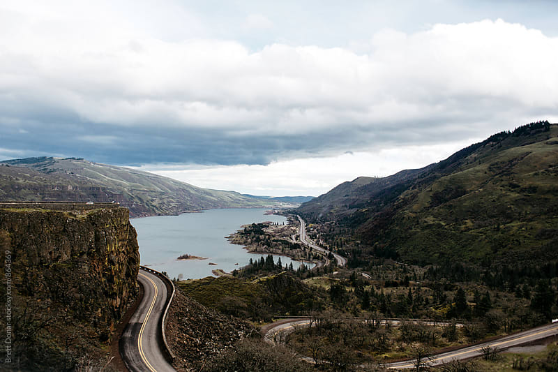 Columbia River Gorge by Brett Donar for Stocksy United