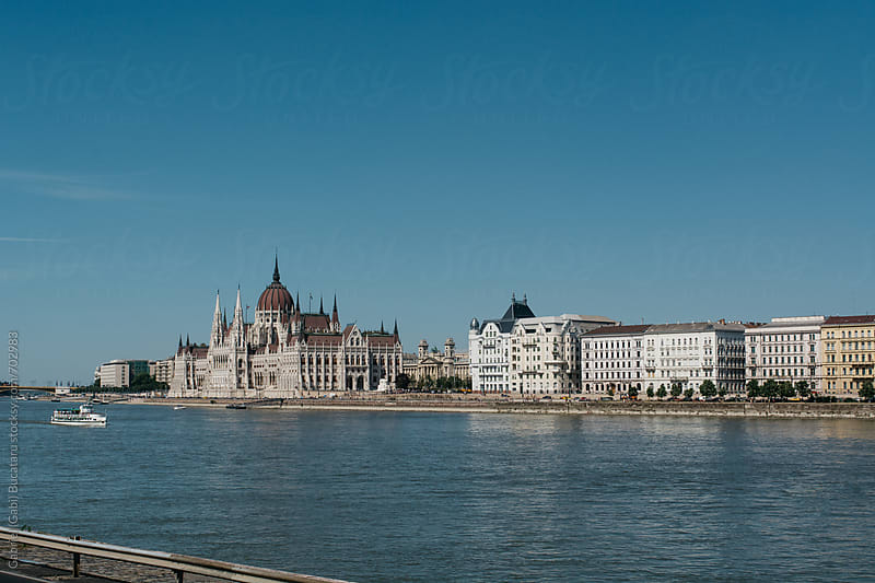 Hungarian Parliament by Gabriel (Gabi) Bucataru for Stocksy United