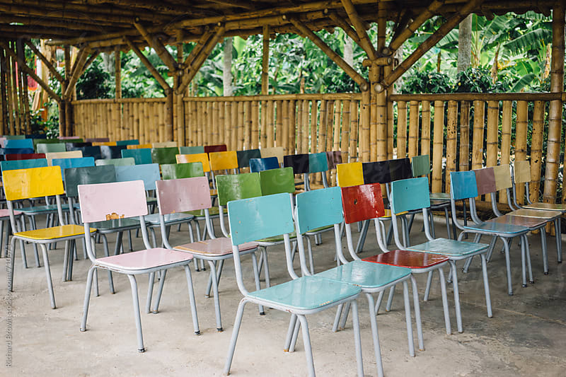 Classroom in the Jungle by Richard Brown for Stocksy United