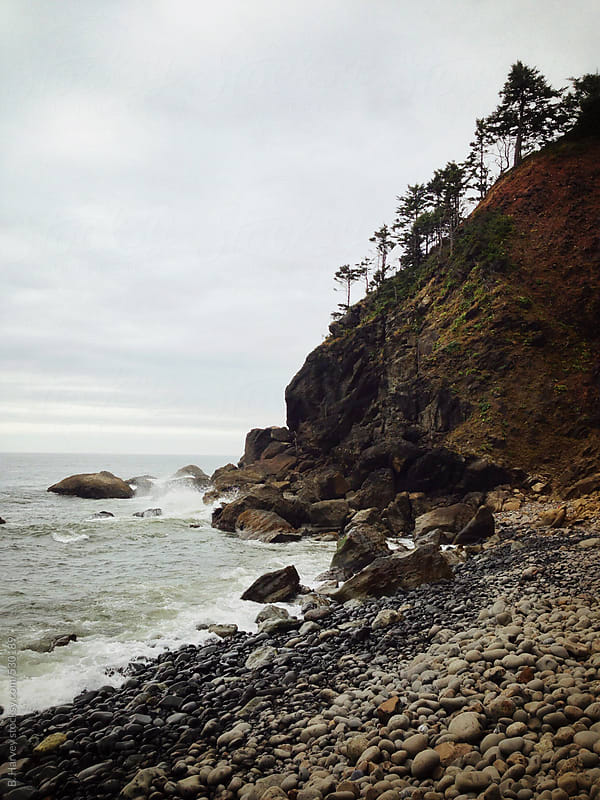 Secret Beach in Oregon by B. Harvey for Stocksy United