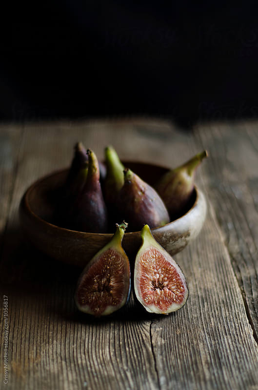 figs in a bowl by Crissy Mitchell for Stocksy United