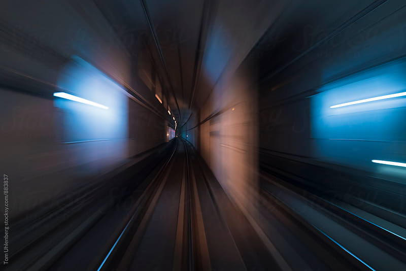 Sci-Fi Tunnel by Tom Uhlenberg for Stocksy United