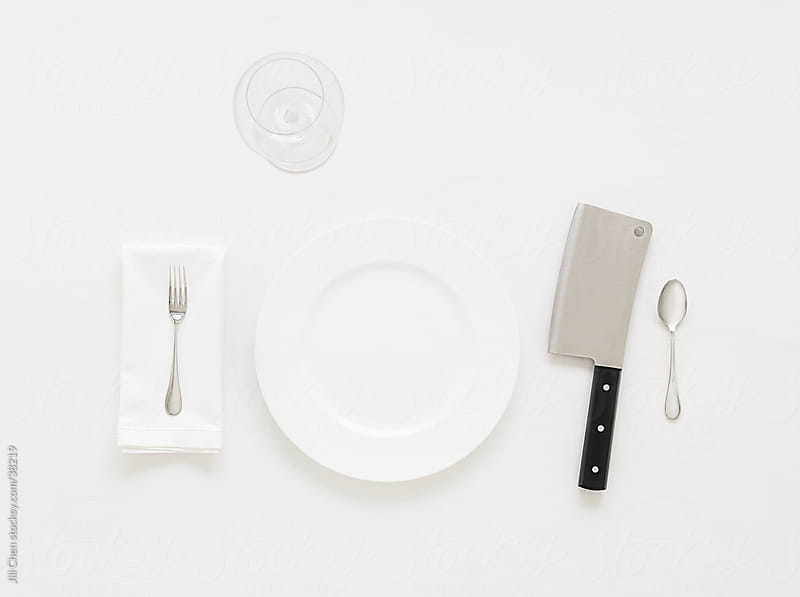 White Table Setting by Jill Chen for Stocksy United