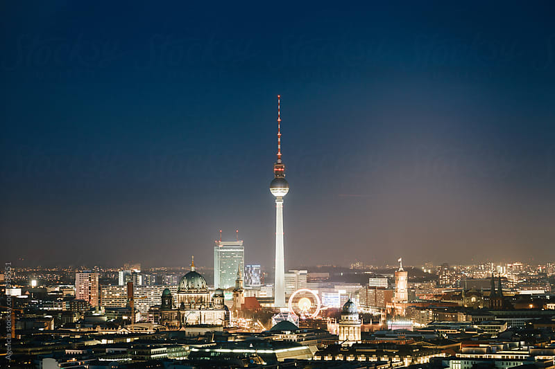 Berlin Twilight by Agencia for Stocksy United