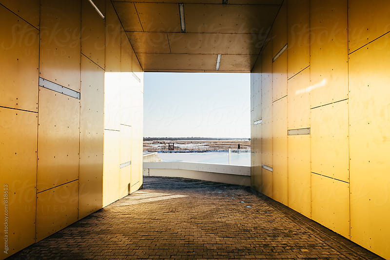 Yellow Passage by Agencia for Stocksy United