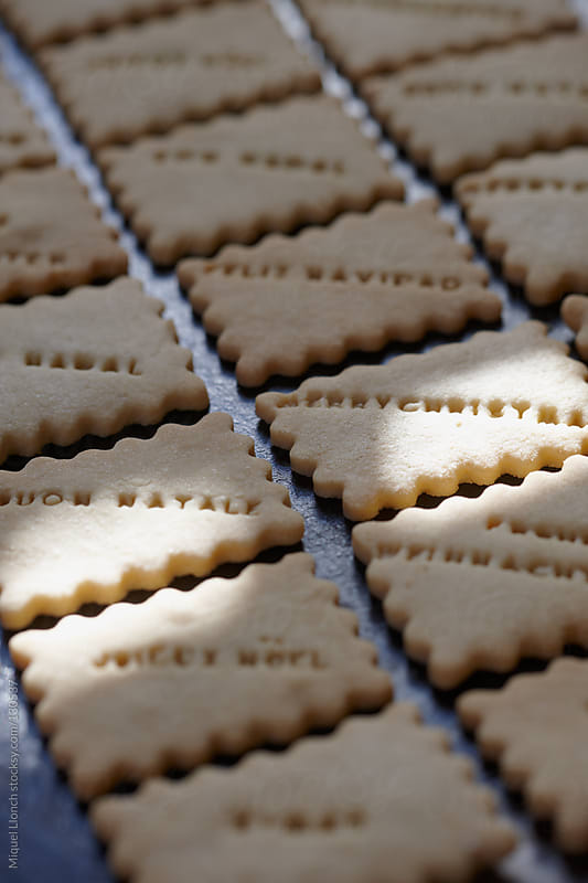 Merry Christmas cookies by Miquel Llonch for Stocksy United