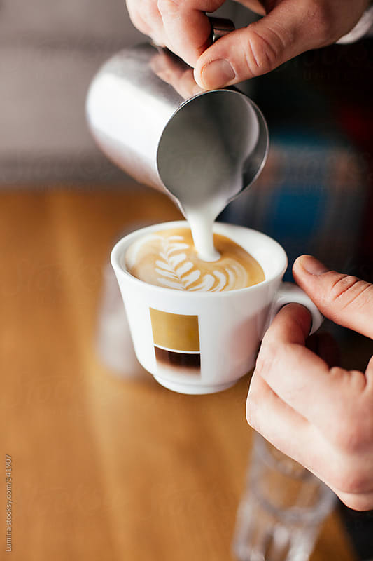 Making Cappuccino  by Lumina for Stocksy United