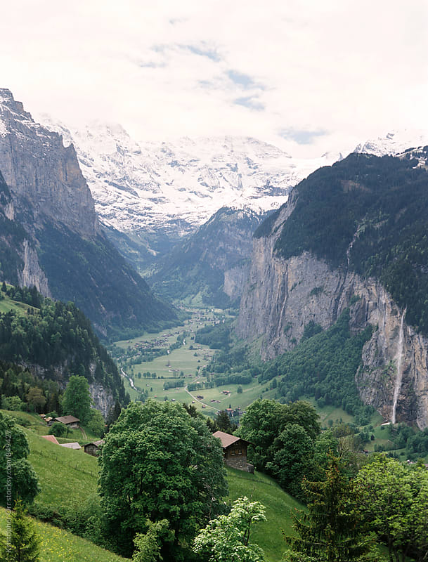 Jungfrau, Switzerland by Kristopher Orr for Stocksy United