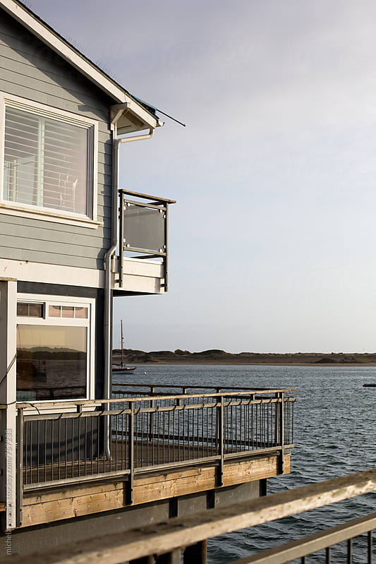 House overlooking the Morro Bay by michela ravasio for Stocksy United