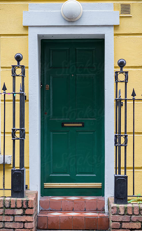 Colorful Doorway by Jeff Wasserman for Stocksy United