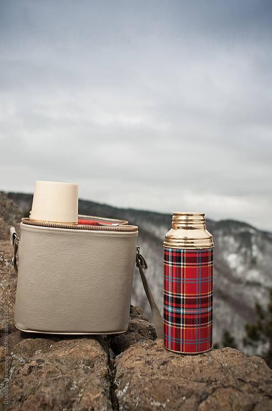 Retro Thermos by Branislav Jovanović for Stocksy United