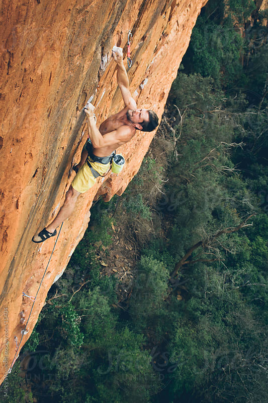 Rock Climber by Micky Wiswedel for Stocksy United