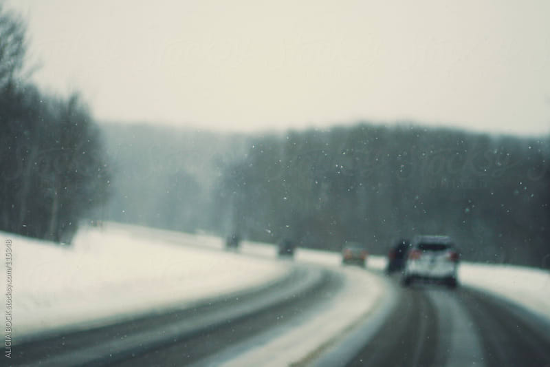 Snow Covered Road by ALICIA BOCK for Stocksy United