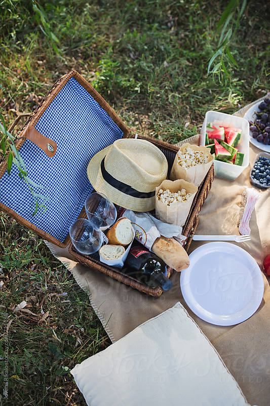 Picnic in nature by Jovana Rikalo for Stocksy United