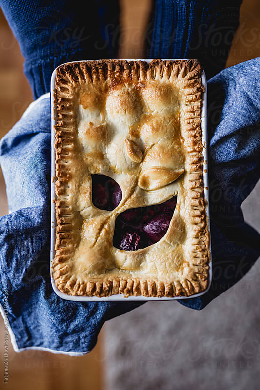 Plum pie by Tatjana Ristanic for Stocksy United
