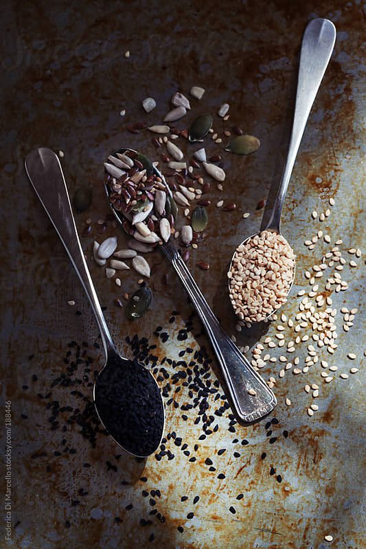 Mixed seeds by Federica Di Marcello for Stocksy United