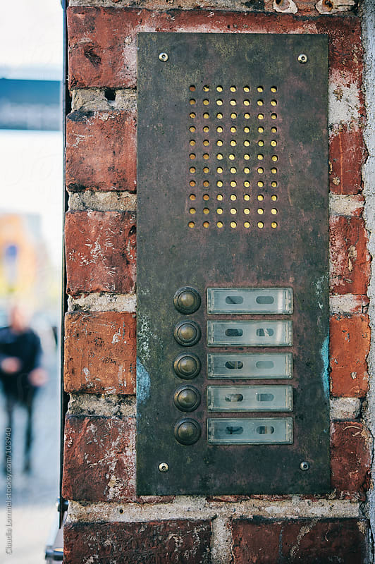 Door Bell  by Claudia Lommel for Stocksy United