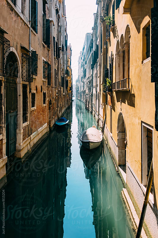 Venetian canal by Juri Pozzi for Stocksy United