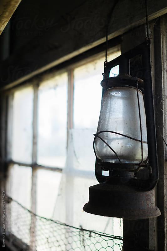 Old Kerosene Lamp by Rowena Naylor for Stocksy United