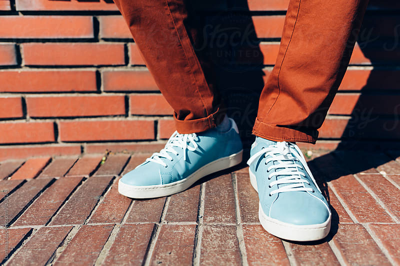Blue Shoes by Lumina for Stocksy United
