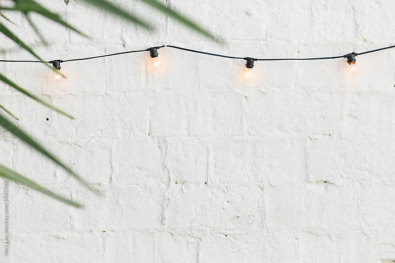 Simple light garland by Vera Lair for Stocksy United