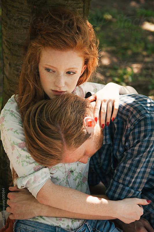 Ginger Couple in Love by Lumina for Stocksy United
