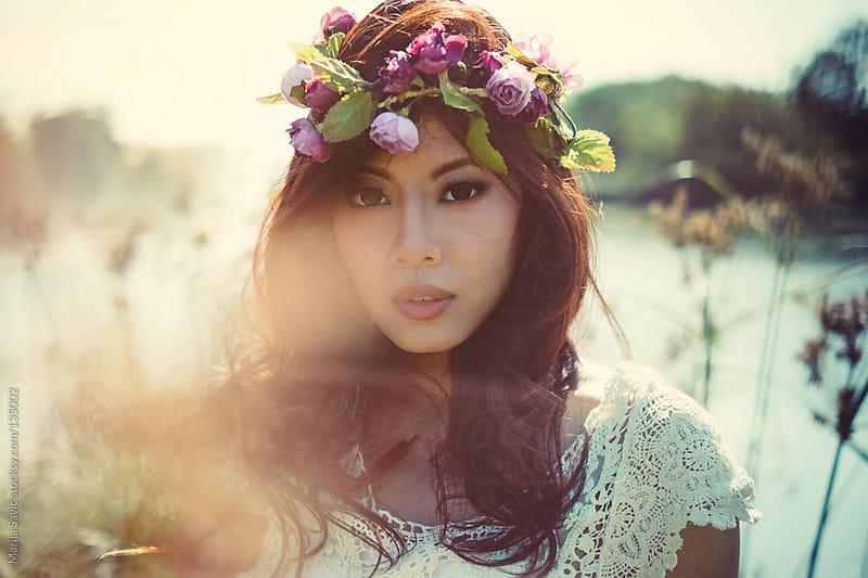 Beautiful Asian Hippie. by Marija Savic for Stocksy United