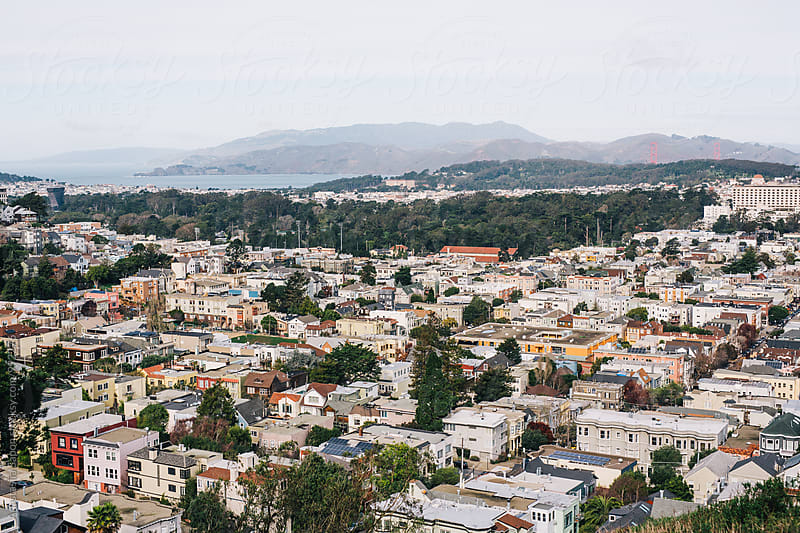 San Francisco view by Anastasiia Sapon for Stocksy United