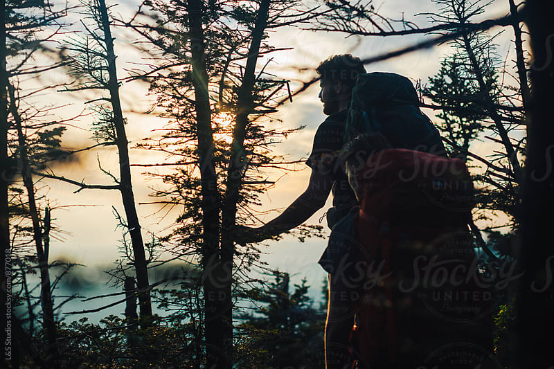 Backpacking In Vermont by L&S Studios for Stocksy United