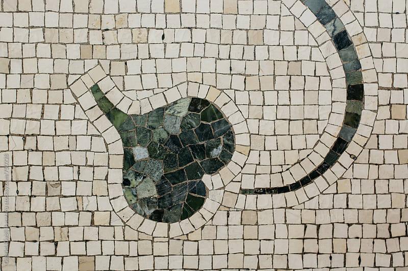Leaf pattern mosaic by Gabriel (Gabi) Bucataru for Stocksy United