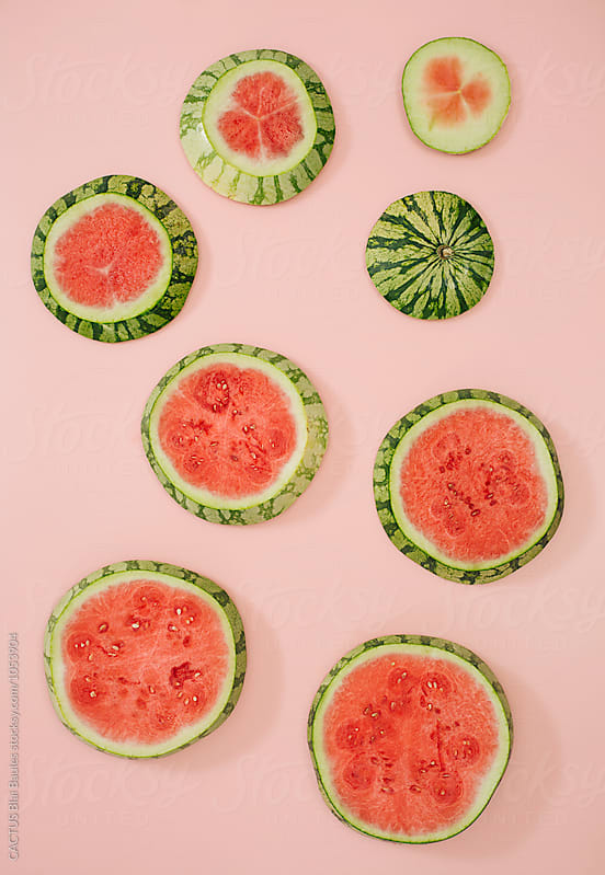 Watermelon composition by CACTUS Blai Baules for Stocksy United