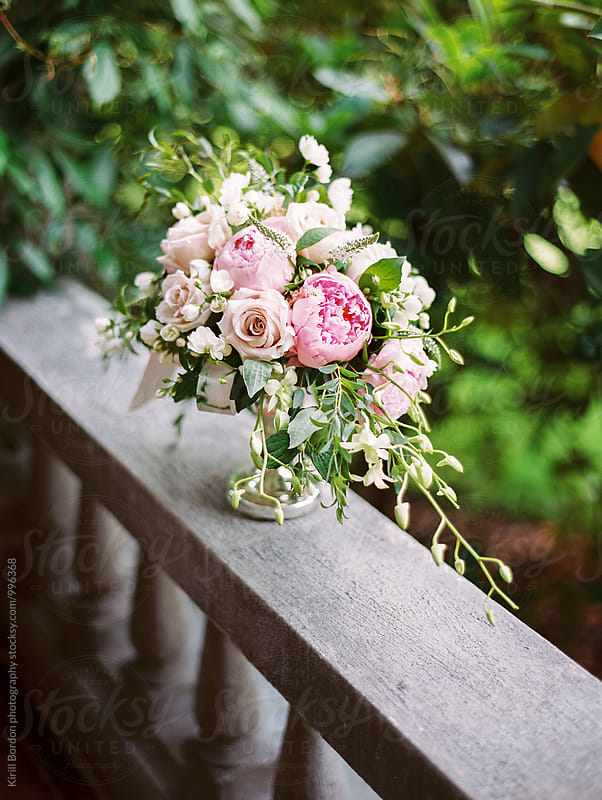 floral arrangement by Kirill Bordon photography for Stocksy United