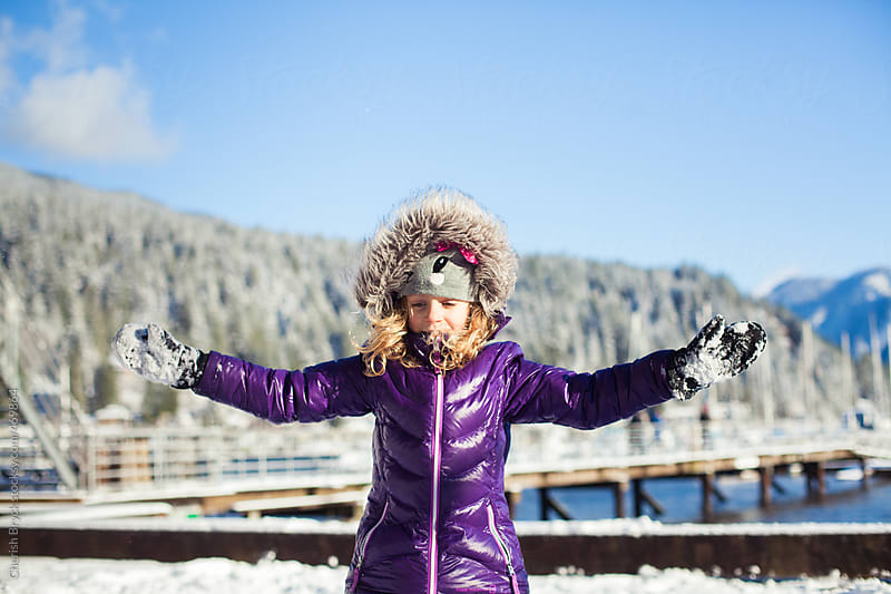 Snow day! by Cherish Bryck for Stocksy United