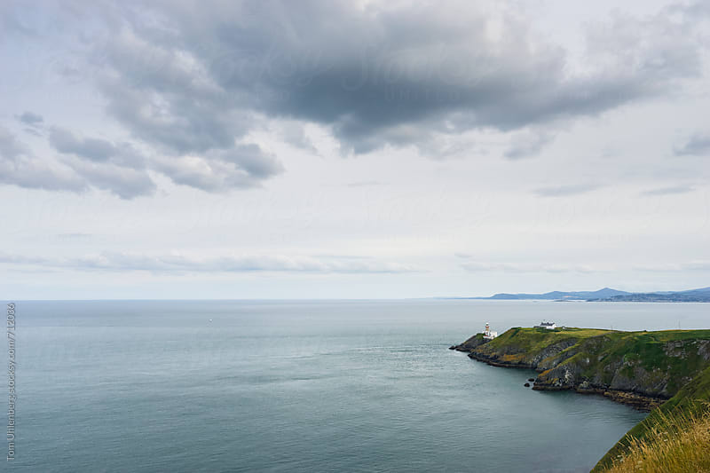 Dublin Bay and the Baily Lighthouse, Ireland by Tom Uhlenberg for Stocksy United