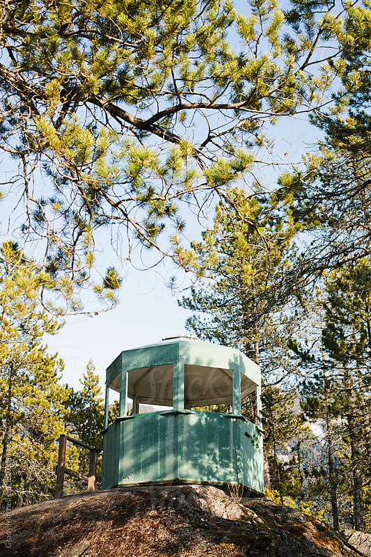Fire Lookout Station by Grady Mitchell for Stocksy United