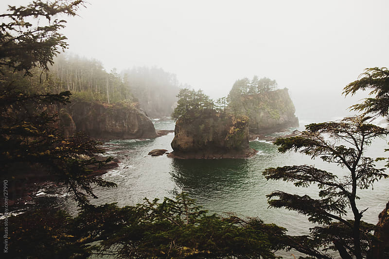 Washington Coast Islands by Kevin Russ for Stocksy United