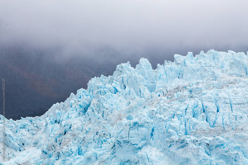 A immense wall of ice by Maximilian Guy McNair MacEwan for Stocksy United
