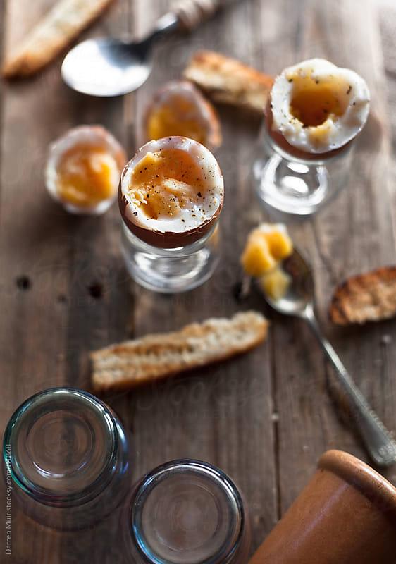 Breakfast eggs. by Darren Muir for Stocksy United