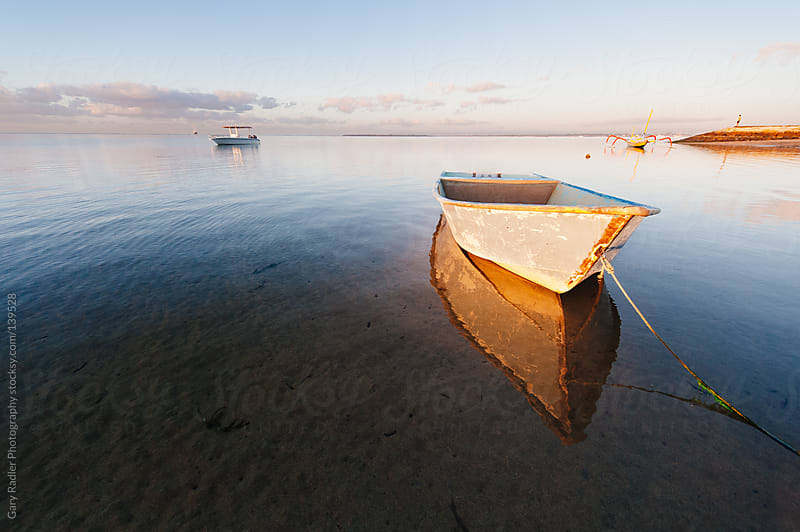 Row Boat, Sanur, Bali by Gary Radler Photography for Stocksy United