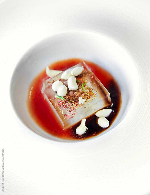 Bloody Mary molecular gastronomy by alan shapiro for Stocksy United